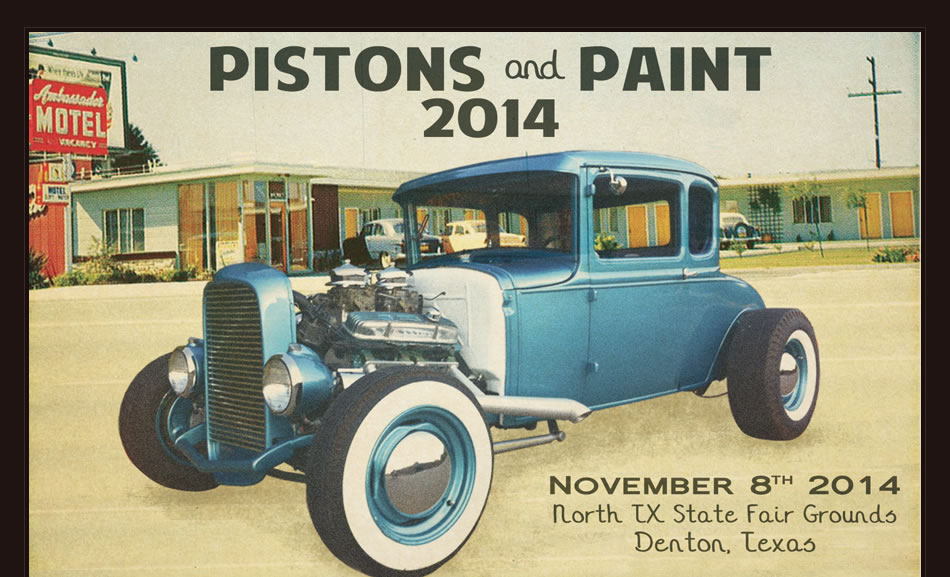 pistons and paint car show denton texas